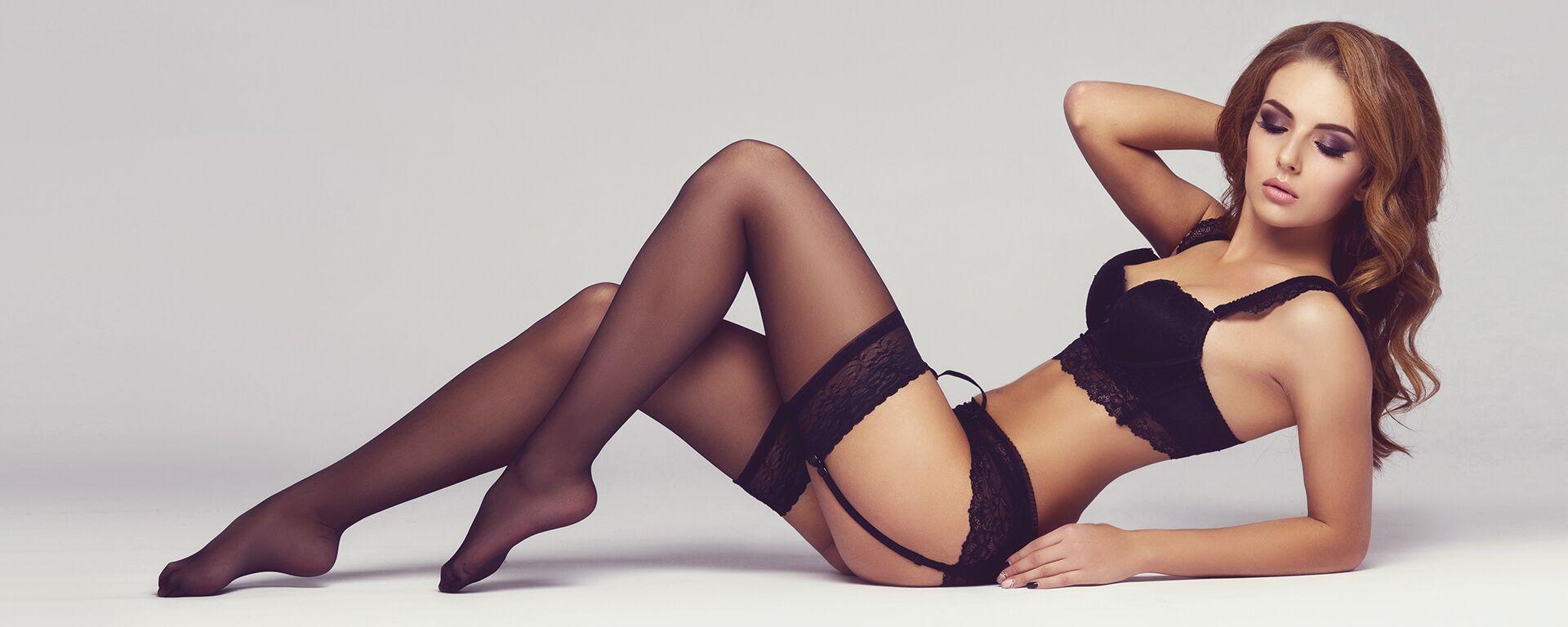 работа девушка модель нижнего белья в нижнем